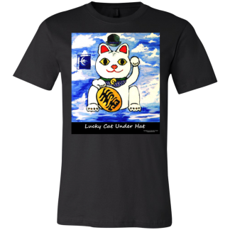 Bella Canvas Lucky Cat T-shirts