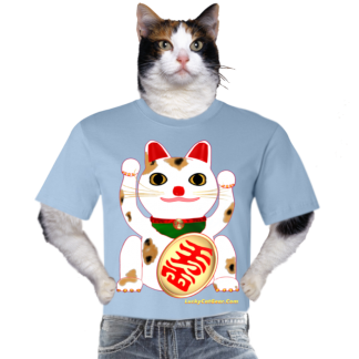 Original Design Lucky Cat Bella+Canvas Ts