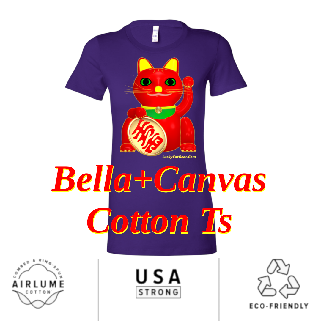 Why we use Bella + Canvas Ts