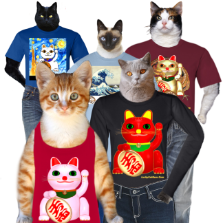 Lucky Cat Tshirts